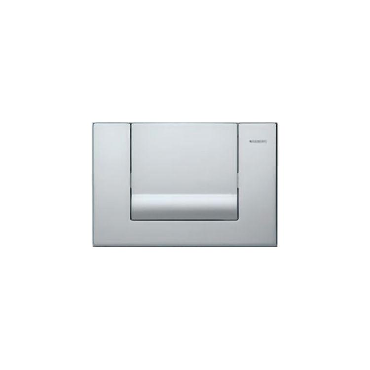 Geberit matte chrome tango actuator flush panel for Geberit tank