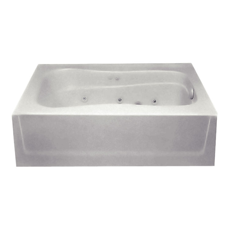 Aquatic Industries 6042STR ST Sterling Silver 60 X42 X74 Tub