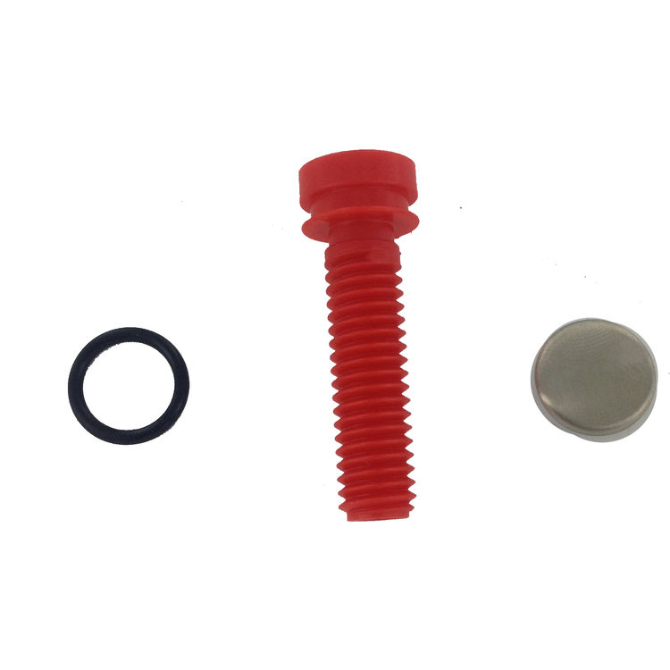 Moen Handles And Buttons: Moen 130147BN Handle Screw Kit With Button Brushed