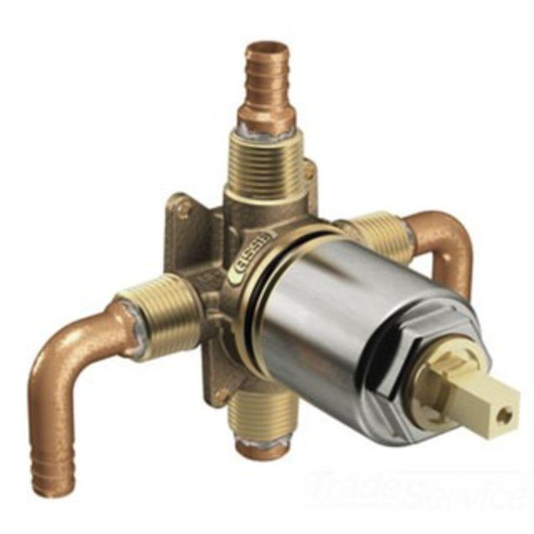 Moen cfg 45514 rough in volume control valve pex for Pex contro rame