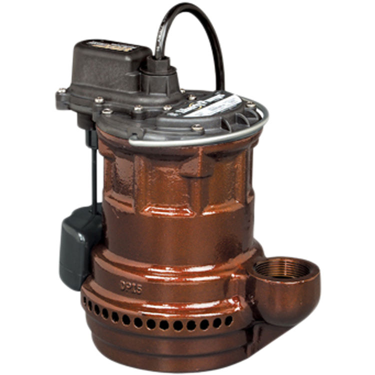 Liberty Pumps 241 240-Series 1/4 Hp Cast Iron Submersible