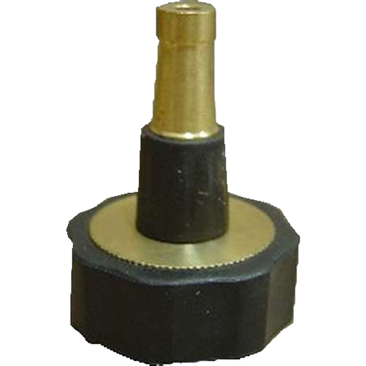 Thrifty t quot brass hose sweeper nozzle plumbersstock