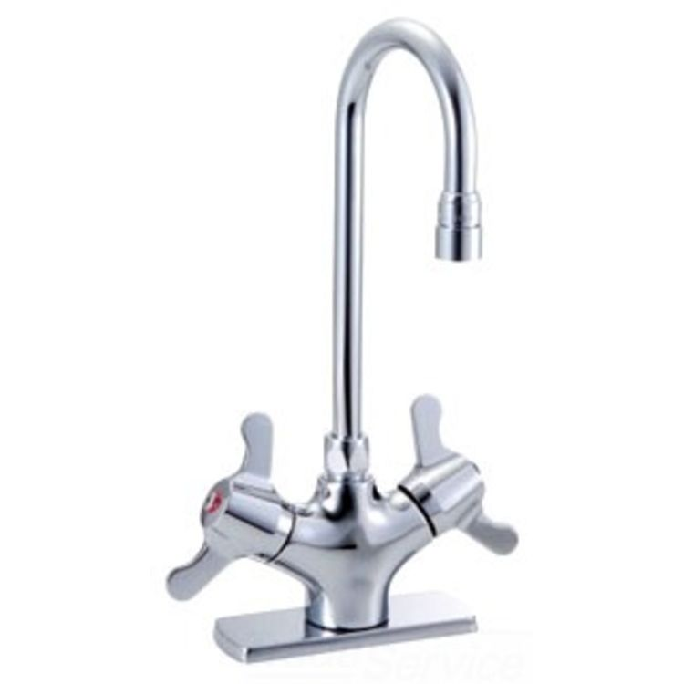 Delta 25c4837 Ls Commercial Single Shank Mixing Faucet Less Coverplate
