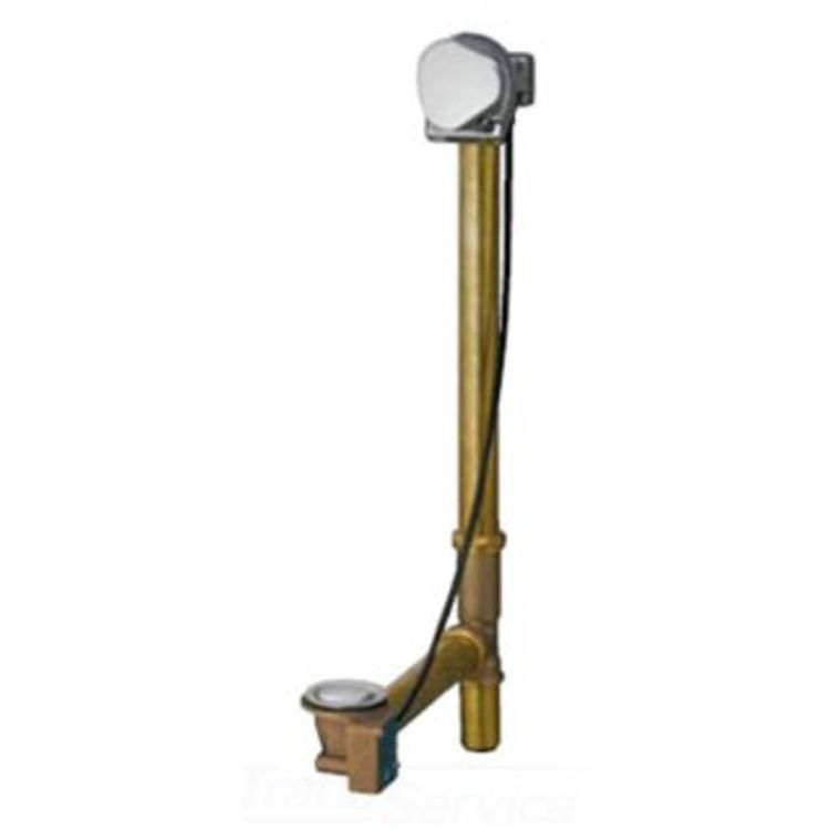 Geberit Chrome Cascading Tub Filler Drain